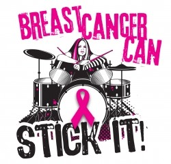 Breast Cancer Can Stick It!