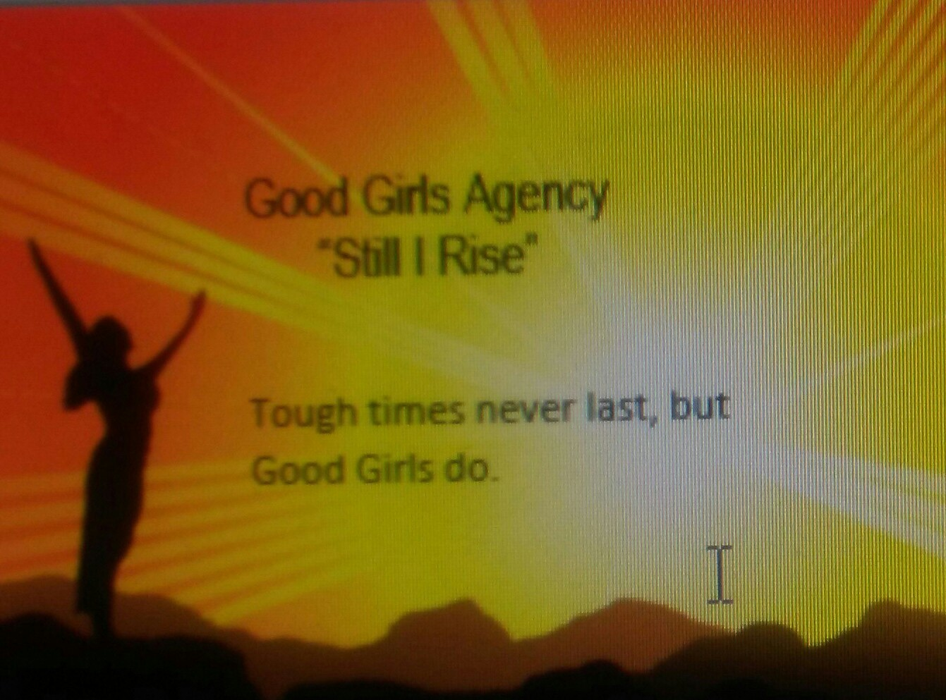 The Good Girls Agency
